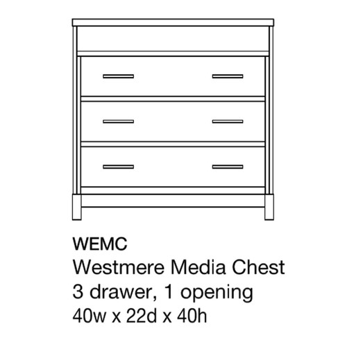 Westmere Media Chest