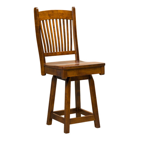 Benton Swivel Bar Stool
