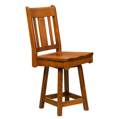 Brookville Swivel Bar Stool