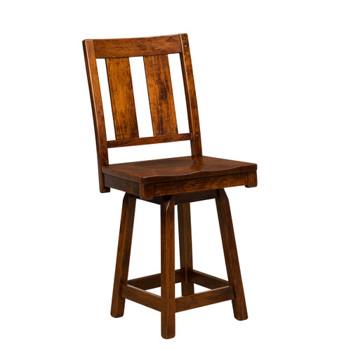 Brunswick Swivel Bar Stool