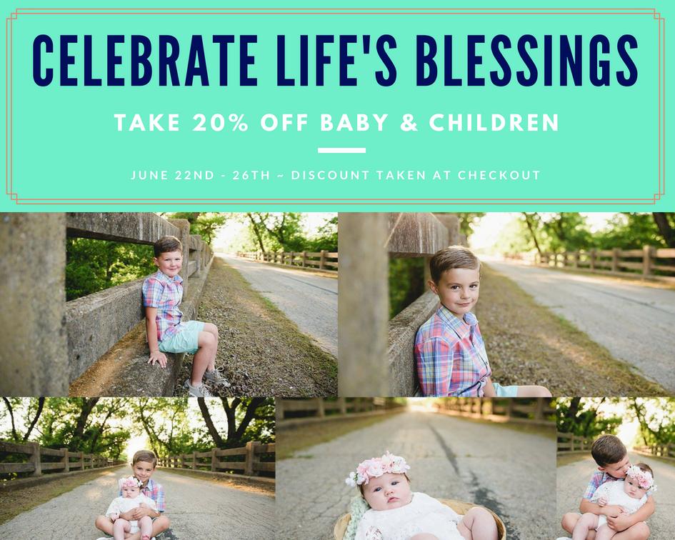 Mattie Lu 20% Off Sale - Baby & Children