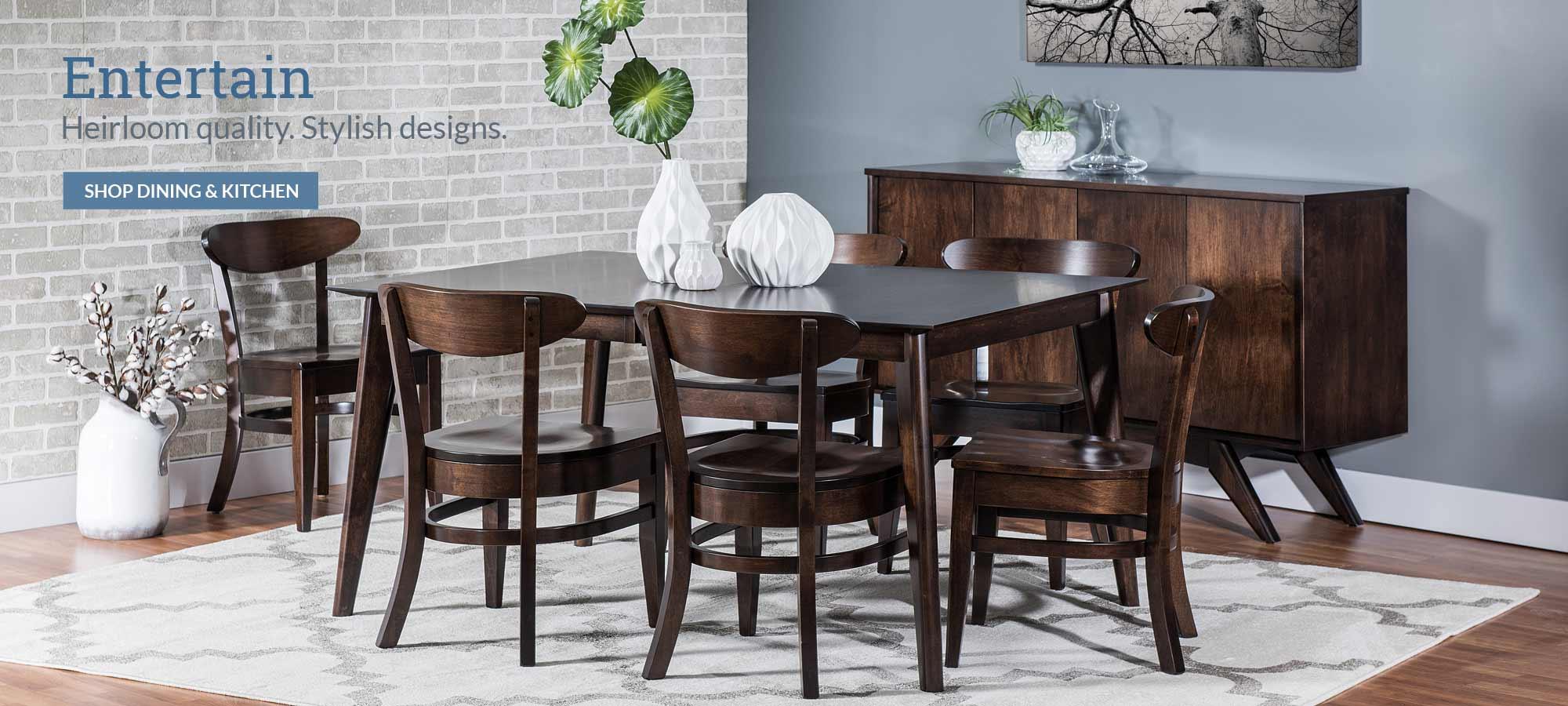 Mattie Lu - Custom Solid Wood Dining Furniture