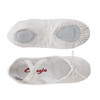BOYS BALLET COMPANY WHITE CANVAS BALLET SHOES