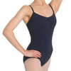 Bloch Arpeggio Seamed Camisole With Pinched Front Leotard