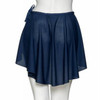 KATZ WRAP-OVER POLY-CREPE SKIRT Jr