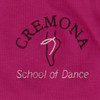 Cremona School of Dance Branded Mulberry Cotton Ballet Wrap (Grades 1, 2 & 3)