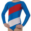 TAPPERS & POINTERS GYM/1 FLYING THE FLAG LEOTARD
