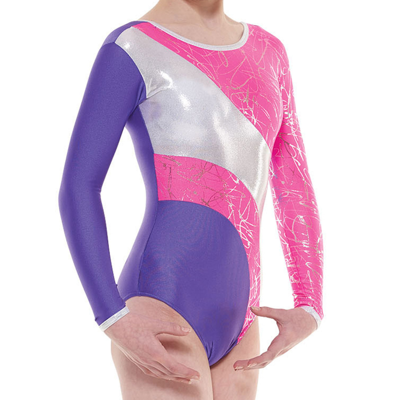 391889fd90cb TAPPERS   POINTERS GYM 38 CARNIVAL LEOTARD - 4 dance
