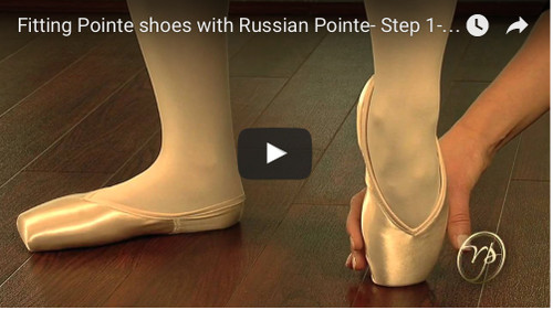 How to Fit the Perfect Pointe Shoe with 4 dance and Russian Pointe - Part 1 of 6