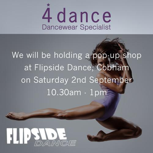 POP UP SHOP COMING TO FLIPSIDE DANCE 2nd SEPTEMBER