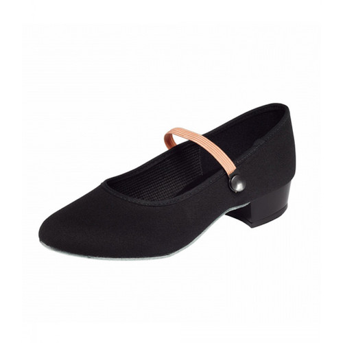 Rebecca Jackson Dance Academy RAD Low Heel Canvas Character Shoe
