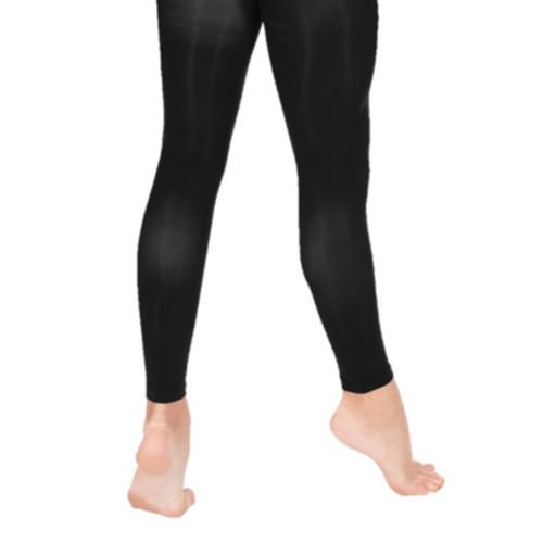 SADA Black Footless Tights