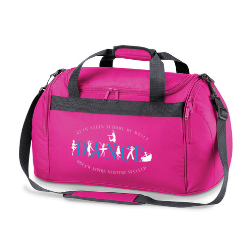 RUTH STEIN SCHOOL OF DANCE BRANDED HOLDALL (Pink)