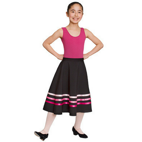RAD Character Skirt (Pink Ribbons)