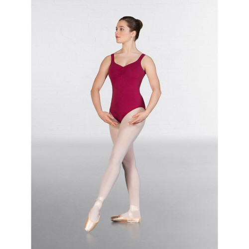 RUTH STEIN SCHOOL OF DANCE FRANCESCA BURGUNDY LEOTARD