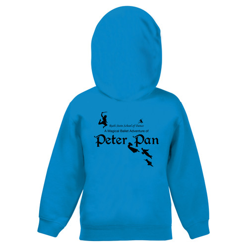 RUTH STEIN SCHOOL OF DANCE BRANDED ZIPPED HOODED JACKET (PETER PAN)