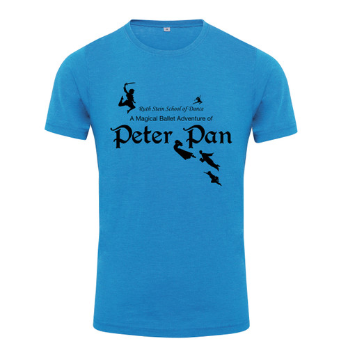 RUTH STEIN SCHOOL OF DANCE PETER PAN BRANDED T-SHIRTS
