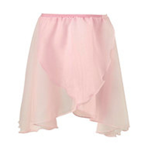 HORSHAM SCHOOL OF DANCE PINK CHIFFON WRAP SKIRT