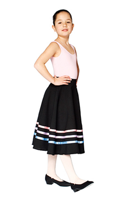 HORSHAM SCHOOL OF DANCE RAD CHARACTER SKIRT (PASTEL RIBBONS)