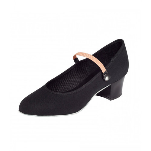 Horsham School of Ballet RAD Cuban Heel Canvas Character Shoe