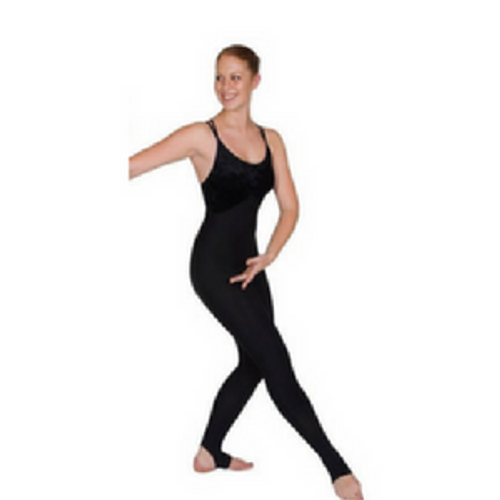 HORSHAM SCHOOL OF DANCE EVORA UNITARD BLACK