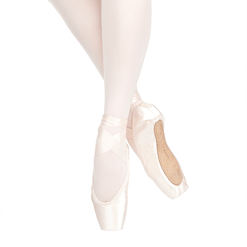 RUSSIAN POINTE 'SAPFIR' POINTE SHOES WITH DRAWSTRING (U-CUT)