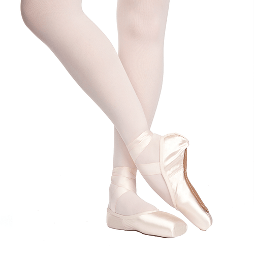 Russian Pointe Rubin Pointe Shoe With Drawstring (U-Cut)