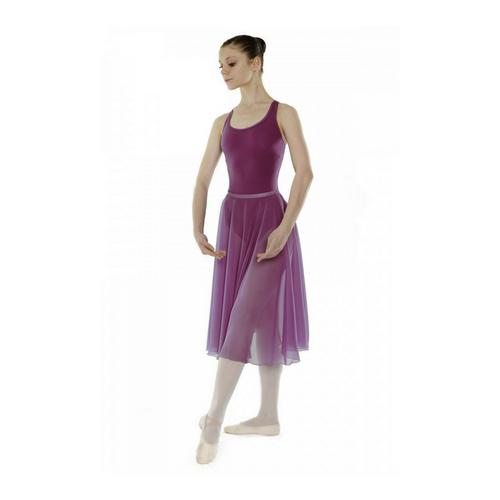 Little Ballerina RAD Mulberry Chiffon Skirt