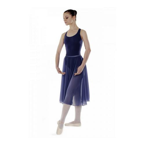 Little Ballerina RAD Navy Chiffon Skirt