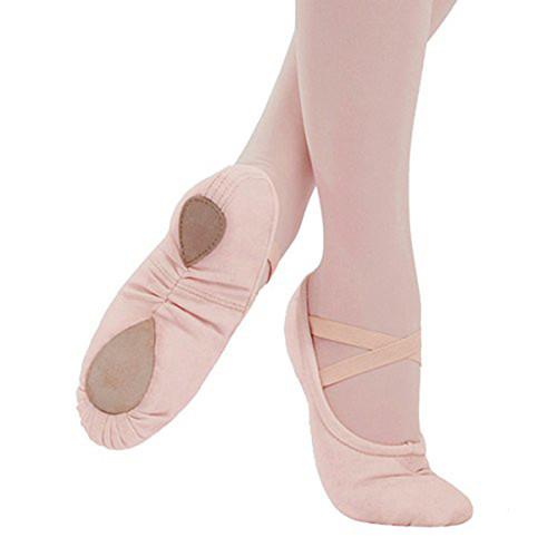 GSA Saturday School Cobra Canvas Ballet Shoe Pink