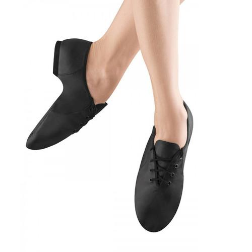 GSA Saturday School Jazz Soft Leather Jazz Shoe With Rubber Split Sole Lace Up
