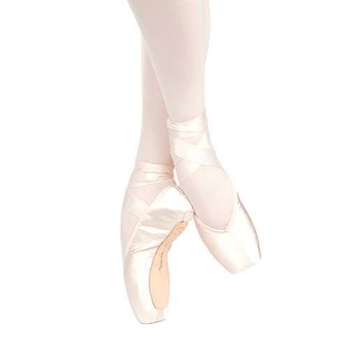 Russian Pointe Brava Pointe Shoes With Drawstring (U-Cut)