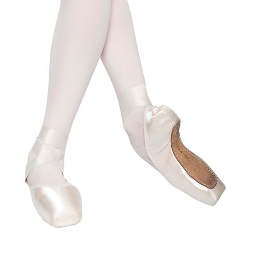 RUSSIAN POINTE 'ALMAZ' DEMI-POINTE DRAWSTRING (U-CUT)
