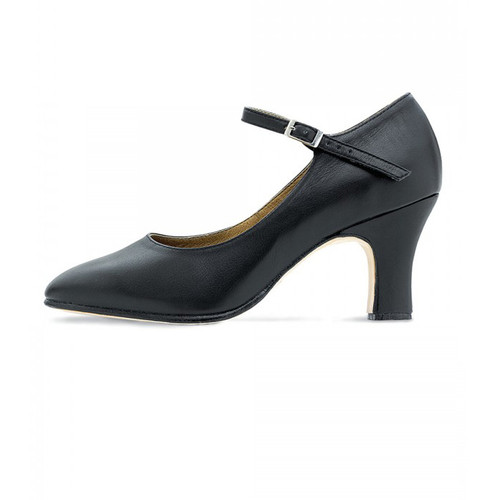 Bloch Leather Chord Ankle Strap Character Shoe