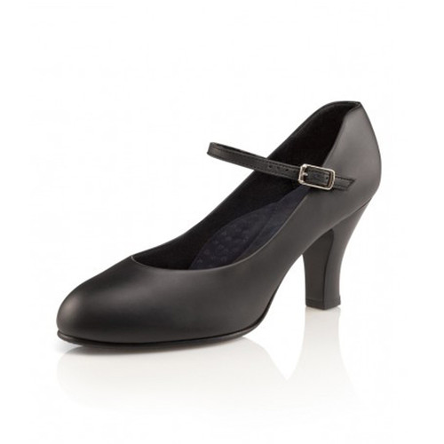 Capezio Theatrical Footlight Leather Character Shoe
