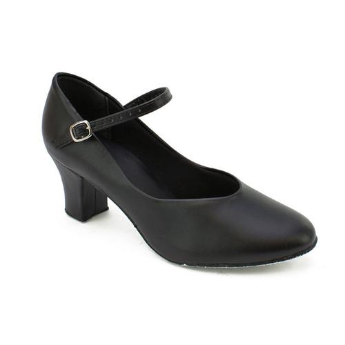 So Danca PU Buckle Strap Suede Sole Shoe
