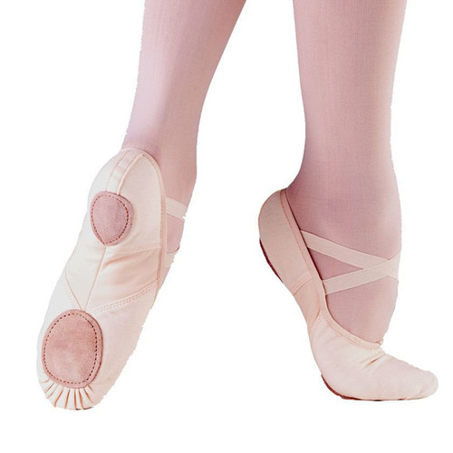 So Danca Split Sole Canvas Professional Ballet Shoe