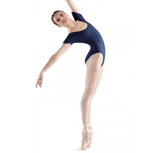 BLOCH 'CAVALIER' ROUND NECK SHORT SLEEVED LEOTARD