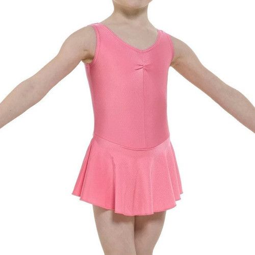 Tappers & Pointers Junior Skirted Ruched Front Leotard Jr