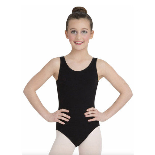 CAPEZIO HIGH NECK TANK LEOTARD Jr