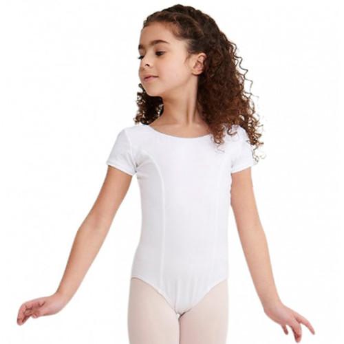 Capezio Princess Seam Short Sleeve Leotard Child