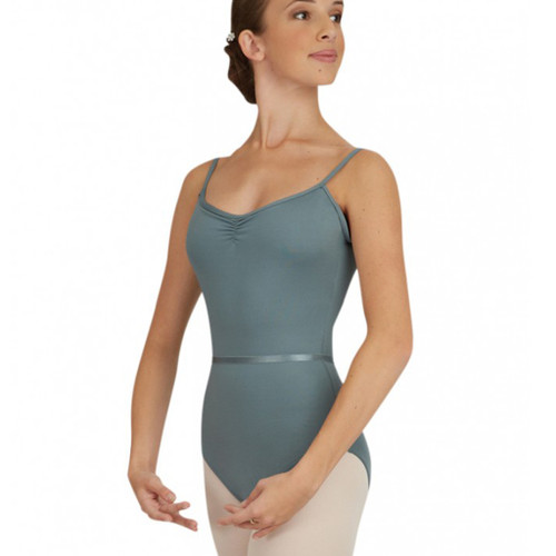 Capezio Pinch Front Camisole Leotard With Belt