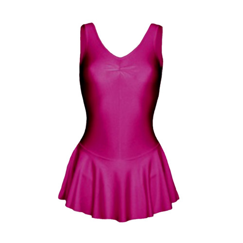 Cremona School of Dance Nylon Lycra Skirted Leotard