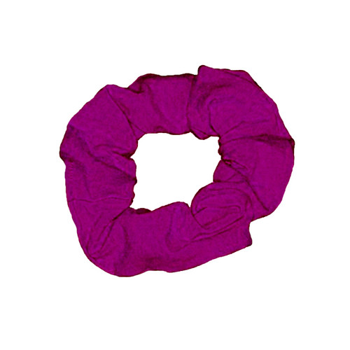 Cremona School of Dance Mulberry Cotton Lycra Scrunchie