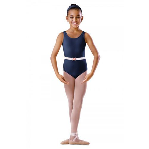 Susan Robinson School of Ballet Navy Cotton Sleeveless Tank Leotard