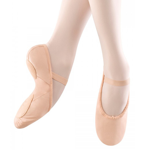 FLIPSIDE PINK CANVAS BALLET SHOE