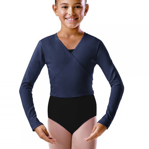 The Performance Academy Navy Cotton Ballet Wrap