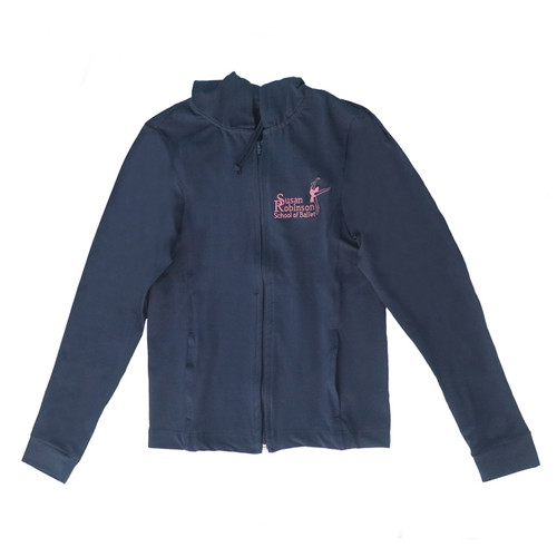 Susan Robinson School of Ballet Branded Navy Track Suit Top