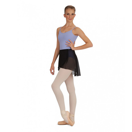 CAPEZIO CHIFFON WRAP SKIRT (Elasiticated Waist / Button Fastening) Ad