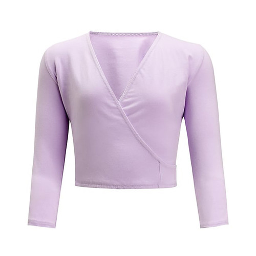FREED BALLET WRAP CROSS OVER 3/4 SLEEVES Jr